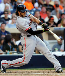 Michael Morse delivered key RBIs during the Giants' 2014 World Series run.