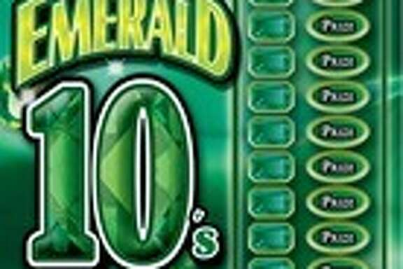 An East Bay man who purchased an Emerald 10's lotto ticket, like the one pictured here, recently won $1 million, lottery officials said Sunday.