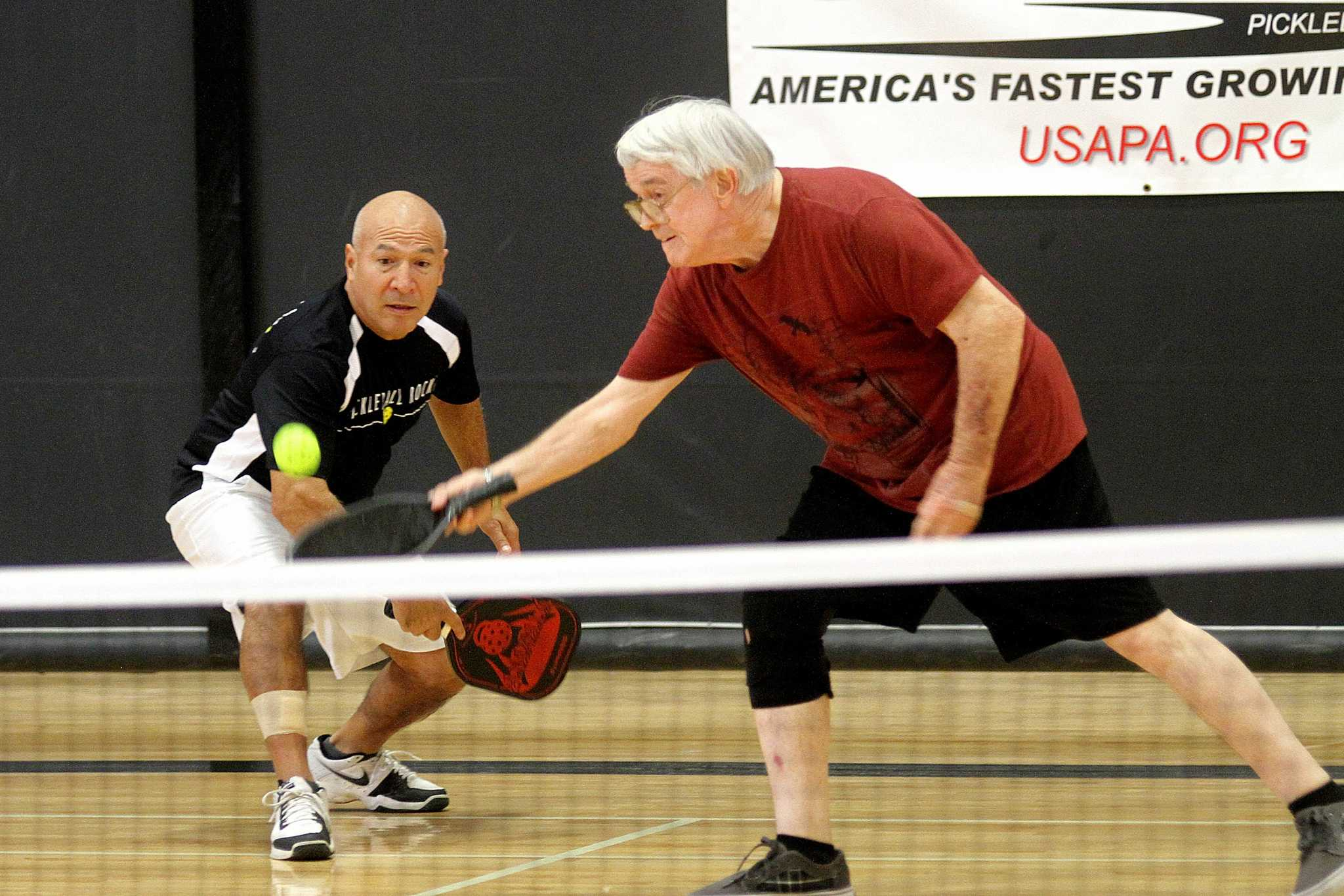 Playing Pickleball A Sweet Pleasure For Many Houston