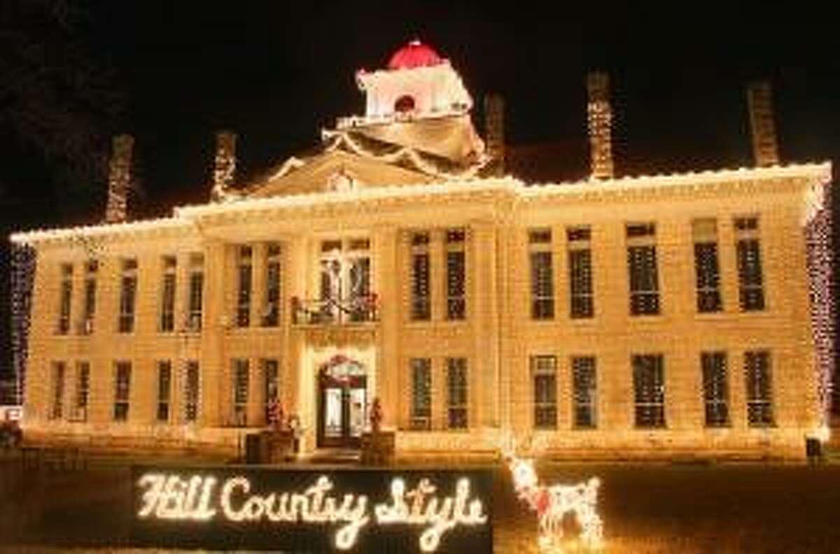 Blanco County Courthouse, Johnson City, TX