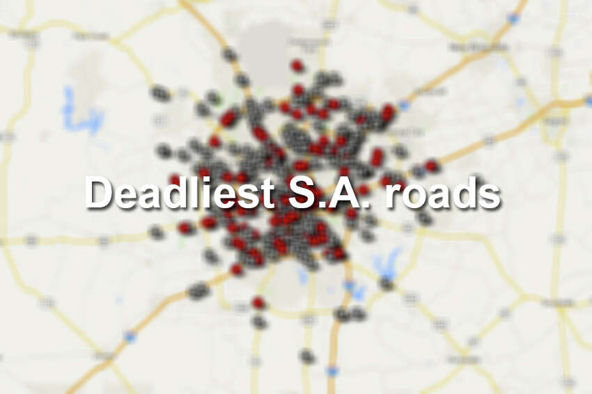 Click through to see which San Antonio roads had the most fatal crashes.