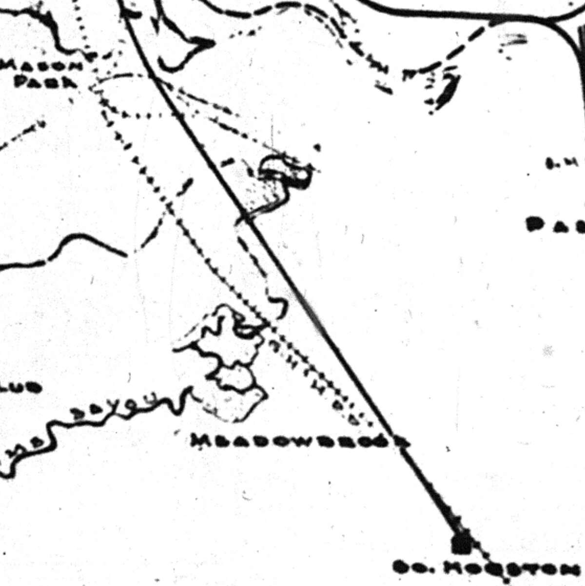 South Houston line
