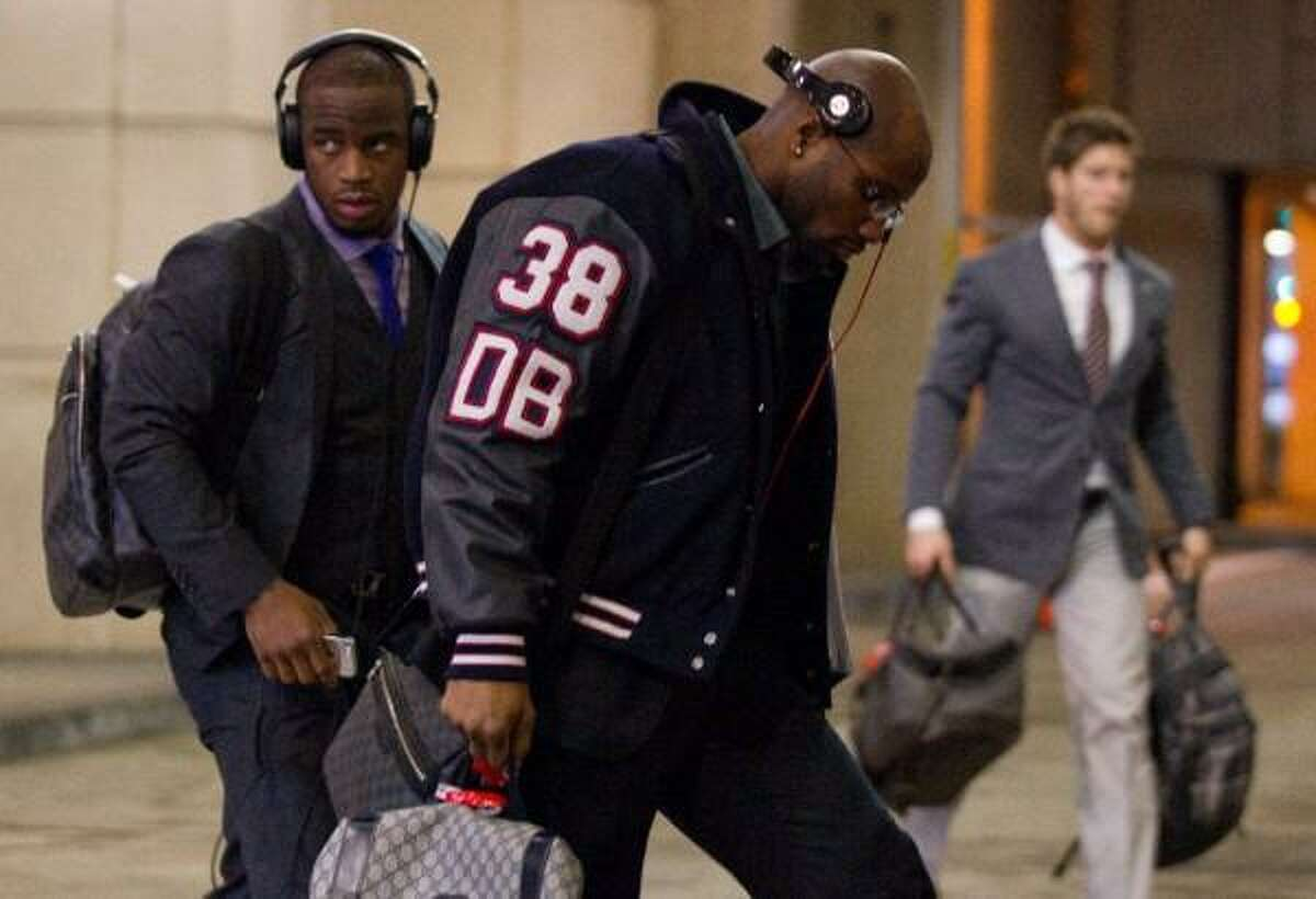 December 2012 - After storming out to an 11-1 start, by far the best in franchise history, the Texans proceeded to drop three of their last four to close the season and lose the inside track to home-field advantage in the playoffs. The low-light of the late-season collapse was the Texans' wearing Letterman jackets for a