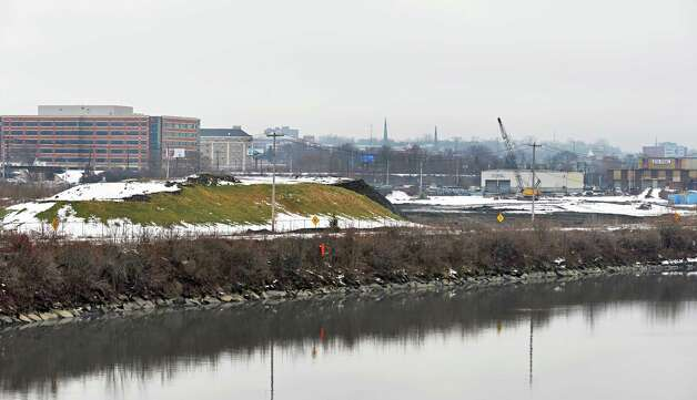 Site of the proposed casino site on the former ALCO site on Erie Blvd. along the Mohawk River Tuesday Dec. 16, 2014, in Schenectady, NY.  (John Carl D'Annibale / Times Union) Photo: John Carl D'Annibale / 00029862B