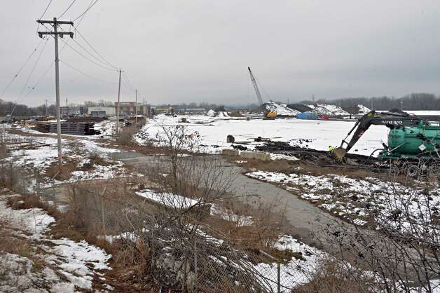 Site of the proposed casino site on the former ALCO site on Erie Blvd. Tuesday Dec. 16, 2014, in Schenectady, NY.  (John Carl D'Annibale / Times Union) Photo: John Carl D'Annibale / 00029862B