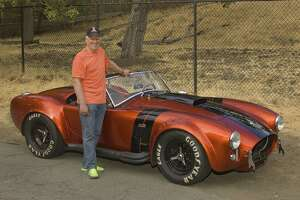 Pilot enjoys attention AC Cobra attracts - Photo