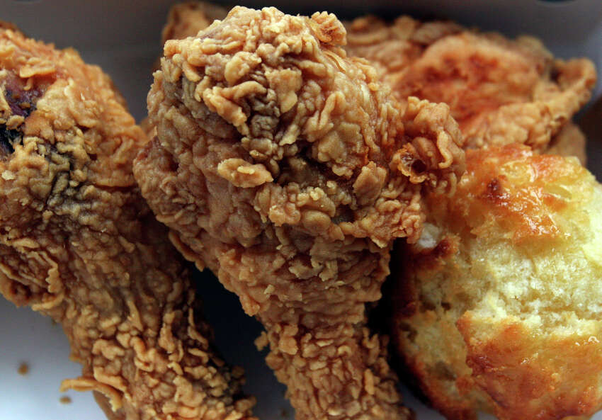 3. In the early days, Church's sold two pieces of fried chicken and a roll for 49 cents.