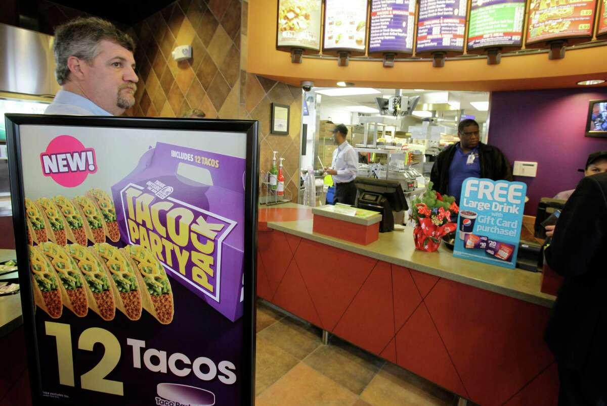 Taco Bell Crunchy Taco Taco Calories: 170