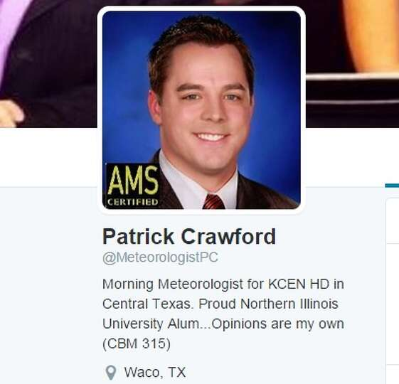 Kcen tv s morning meteorologist patrick crawford exchanged words with