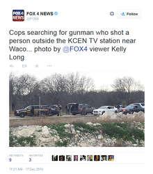 Texas meteorologist shot last month returns to TV wearing