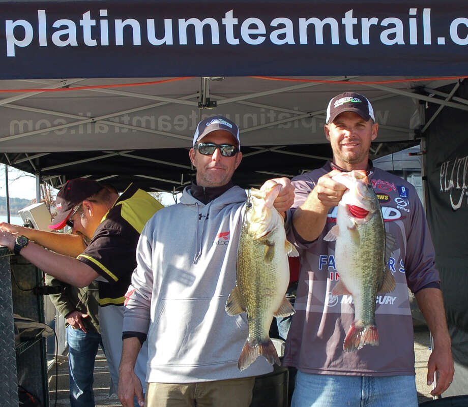 Dominating the win by nearly 10 pounds, Todd Castledine & Russell Cecil weighed over 36 pounds including a kicker over 10   Photo by Patty Lenderman / Lakecaster
