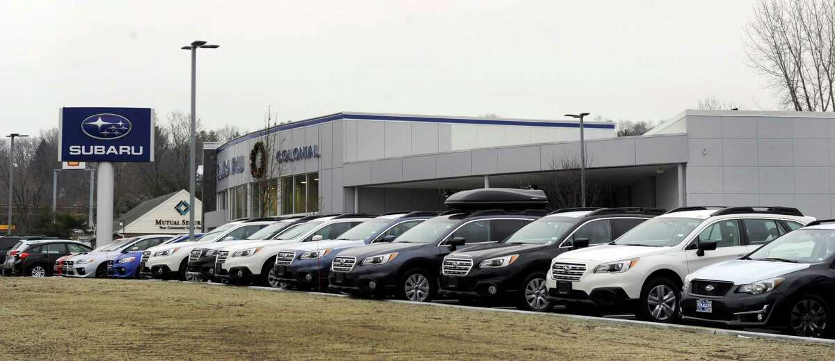Colonial Subaru has opened in the former Roberts Buick spot on Newtown Road in Danbury, Conn. Photos taken Tuesday, Dec. 16, 2014.