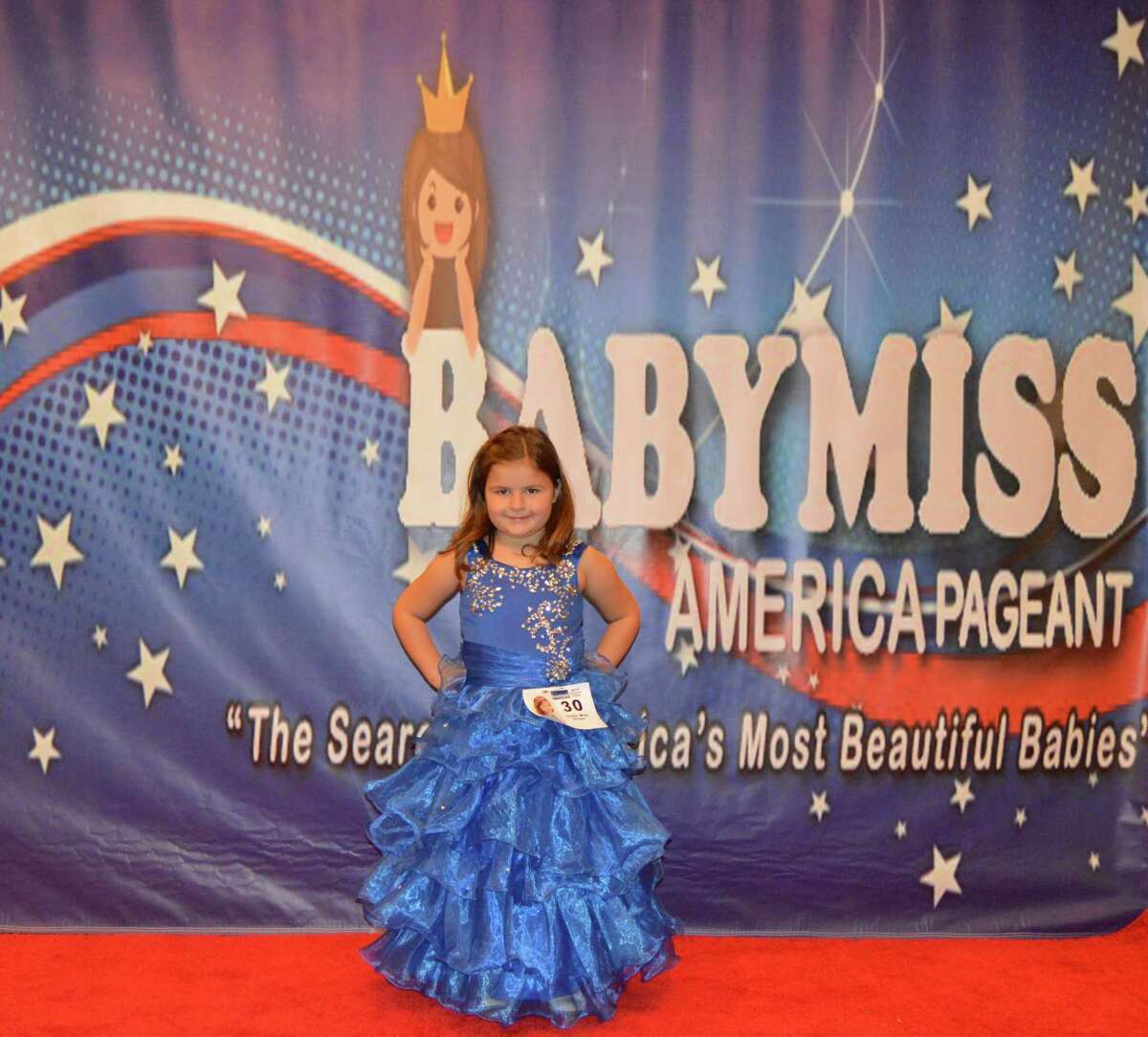 Texas contestants from the 2014 Baby Miss America National Pageant held Thanksgiving weekend at the Marriott North Houston.