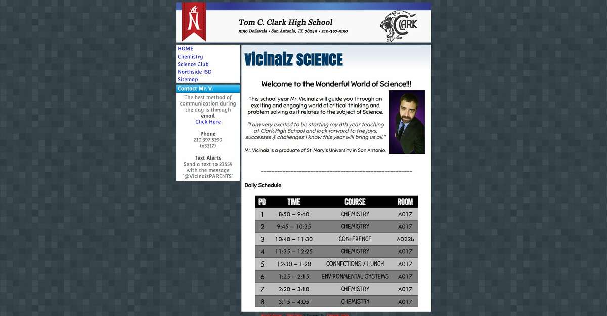 Clark High School teacher resigns after admitting to ...