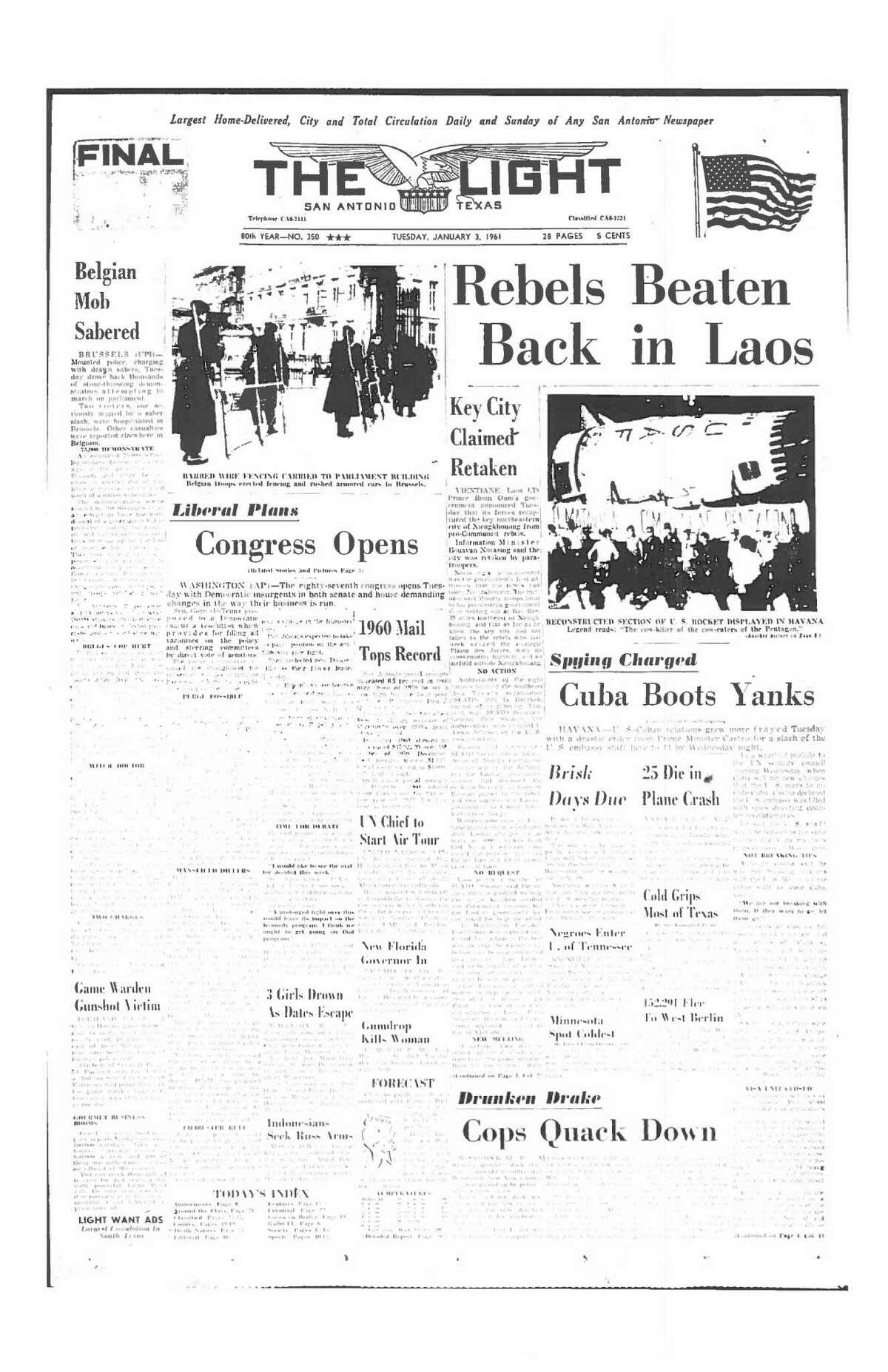 Jan. 3, 1961: Cuba Boots Yanks