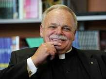 Monsignor Robert Weiss, pastor of St. Rose of Lima Roman Catholic Church in Newtown, Conn., Forum on Faith, Monday, Sept. 30, 2013.