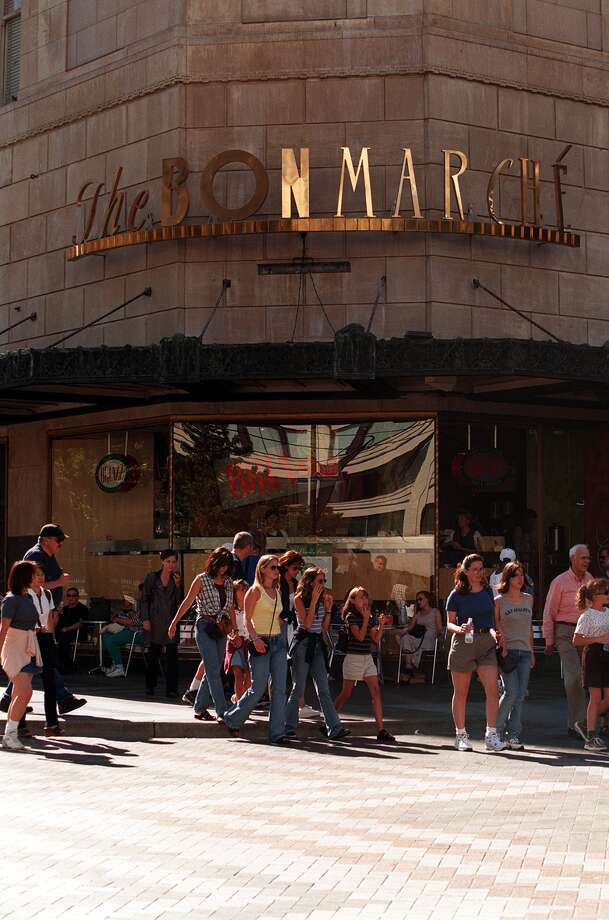 For years, the Bon Marche was synonymous with downtown shopping. It opened in Belltown in 1890 as a dry goods store and became Macy's in 2005. Photo: JAMES PRICHARD/P-I, P-I File