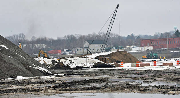 Site of the proposed casino site on the former ALCO site on Erie Blvd. Tuesday Dec. 16, 2014, in Schenectady, NY.  (John Carl D'Annibale / Times Union) Photo: John Carl D'Annibale, Albany Times Union / 00029862B