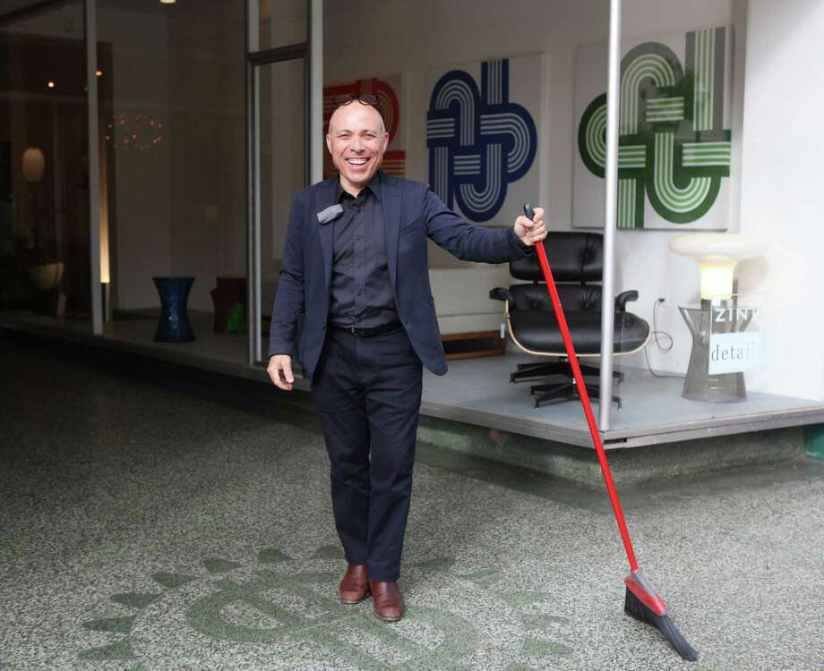 With a new 5,000-square-foot showroom in Japantown, Zinc Details' co-owner Vas Kiniris says he can now do events and collaborations. Photo: Liz Hafalia / The Chronicle / ONLINE_YES