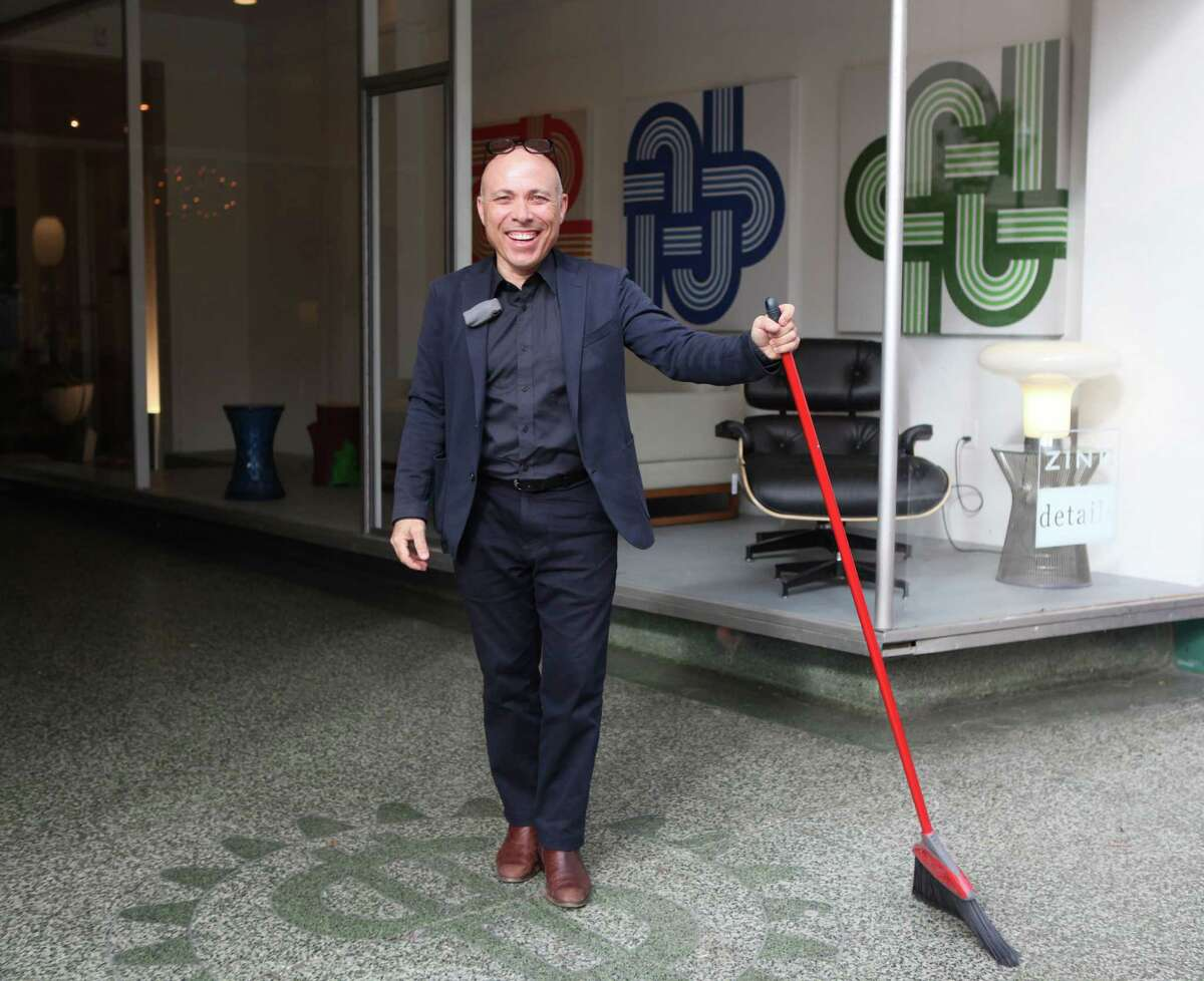 With a new 5,000-square-foot showroom in Japantown, Zinc Details' co-owner Vas Kiniris says he can now do events and collaborations.