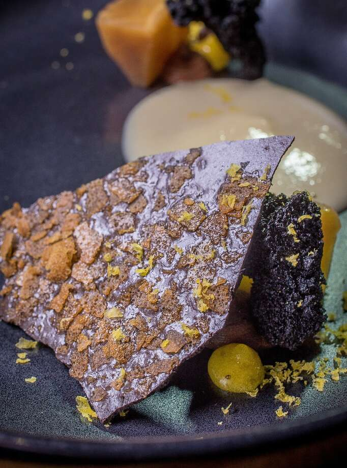 Parsnip with Coffee, Cocoa, and Egg Yolk at Lazy Bear in San Francisco, Calif. is seen on December 13th, 2014. Photo: John Storey, Special To The Chronicle