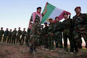 Kurdish Iraqi forces launch operation in militant-held city - Photo