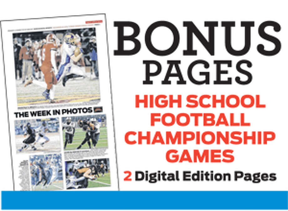 Print promo for E-edition digital bonus sports pages Photo: Contributed Photo / Connecticut Post Contributed