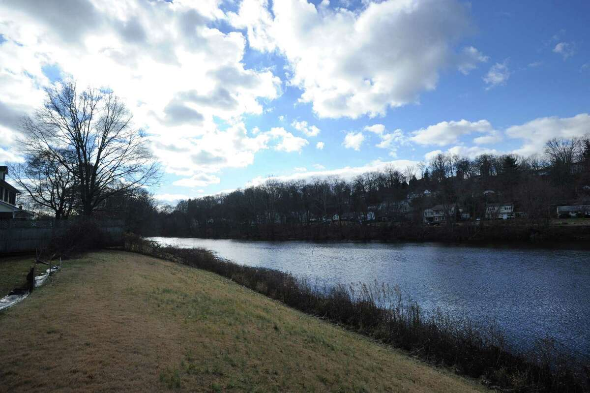 The Byram River in Greenwich, Conn., Wednesday, Dec. 17, 2014.