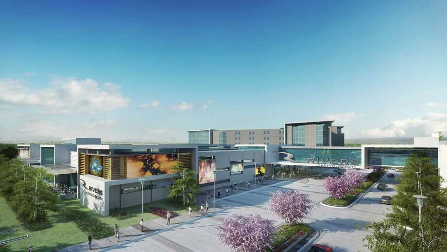 Rendering of the proposed Rivers Casino & Resort at Mohawk Harbor in Schenectady, N.Y.