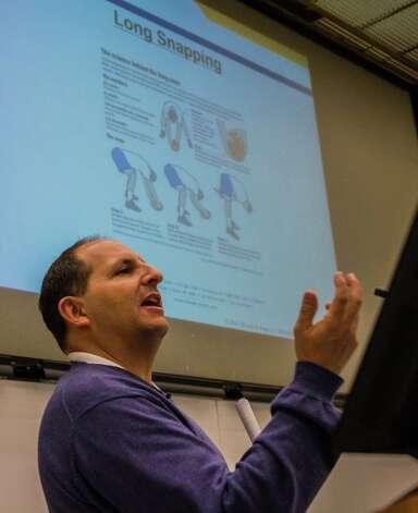 Kevin Gold. (Bill Pyke / University at Albany)
