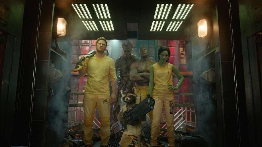 15. Guardians of the Galaxy. Photo: HANDOUT, McClatchy-Tribune News Service