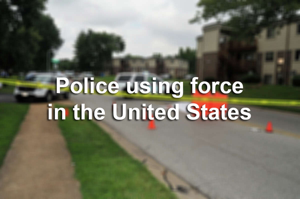 2014 has been a year in which police force incidents have become a huge part of public discourse. Scroll through to see how law enforcement officers have used force in the United States.