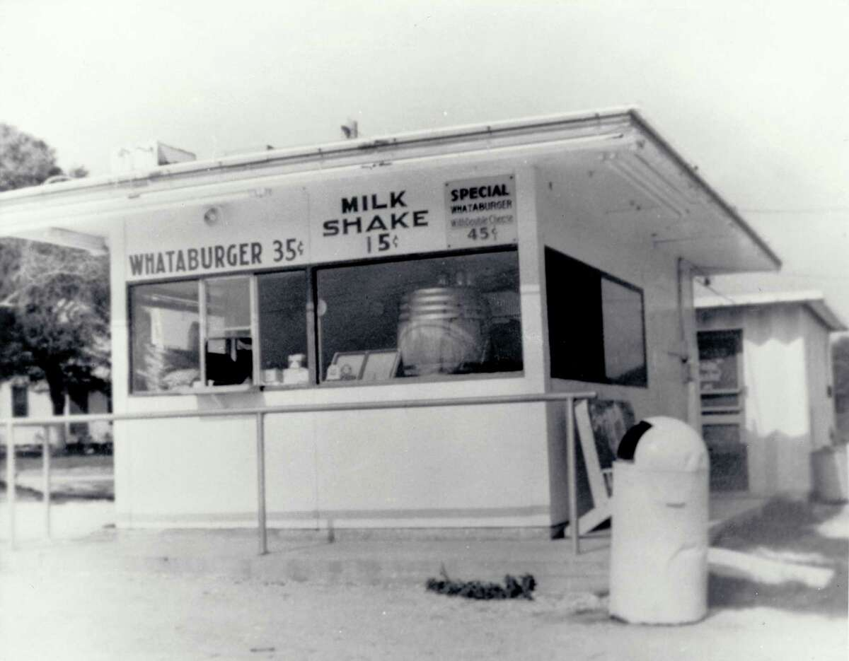 Behold, the world's first Whataburger was located on Ayers Street in Corpus Christi, pictured here on August 8, 1950. While the original building is long gone, the original recipe remains in tact.