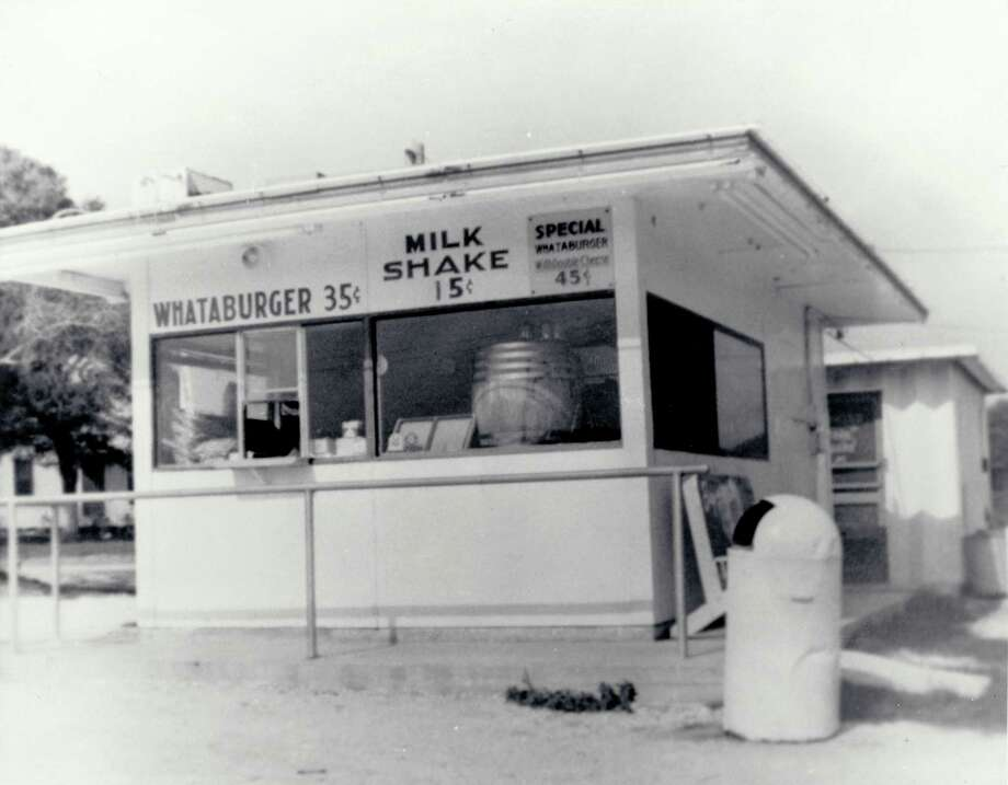 Behold, the world's first Whataburger was located on Ayers Street in Corpus Christi, pictured here on August 8, 1950. While the original building is long gone, the original recipe remains in tact. Photo: Whataburger