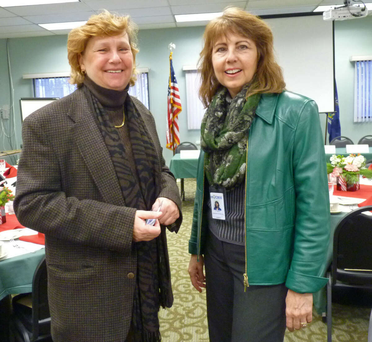 Were you Seen with industry and school experts at the Capital Region Career and Technical School on Dec. 18, 2014 to discuss how educators can better prepare students for college and the workforce?