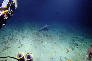 Gulf of Mexico explorers on board the E/V Nautilus released footage of this creepy chimaera, or ghost shark, they spotted in the deep near the Caribbean island of Grenada.