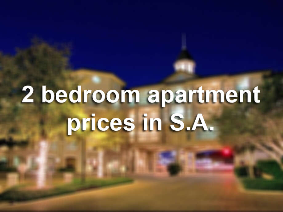 Click through to see how much 2 bedroom apartments run in San Antonio in different parts of town.