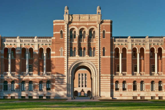 Lovett Hall at Rice University, Houston, Texas, USA