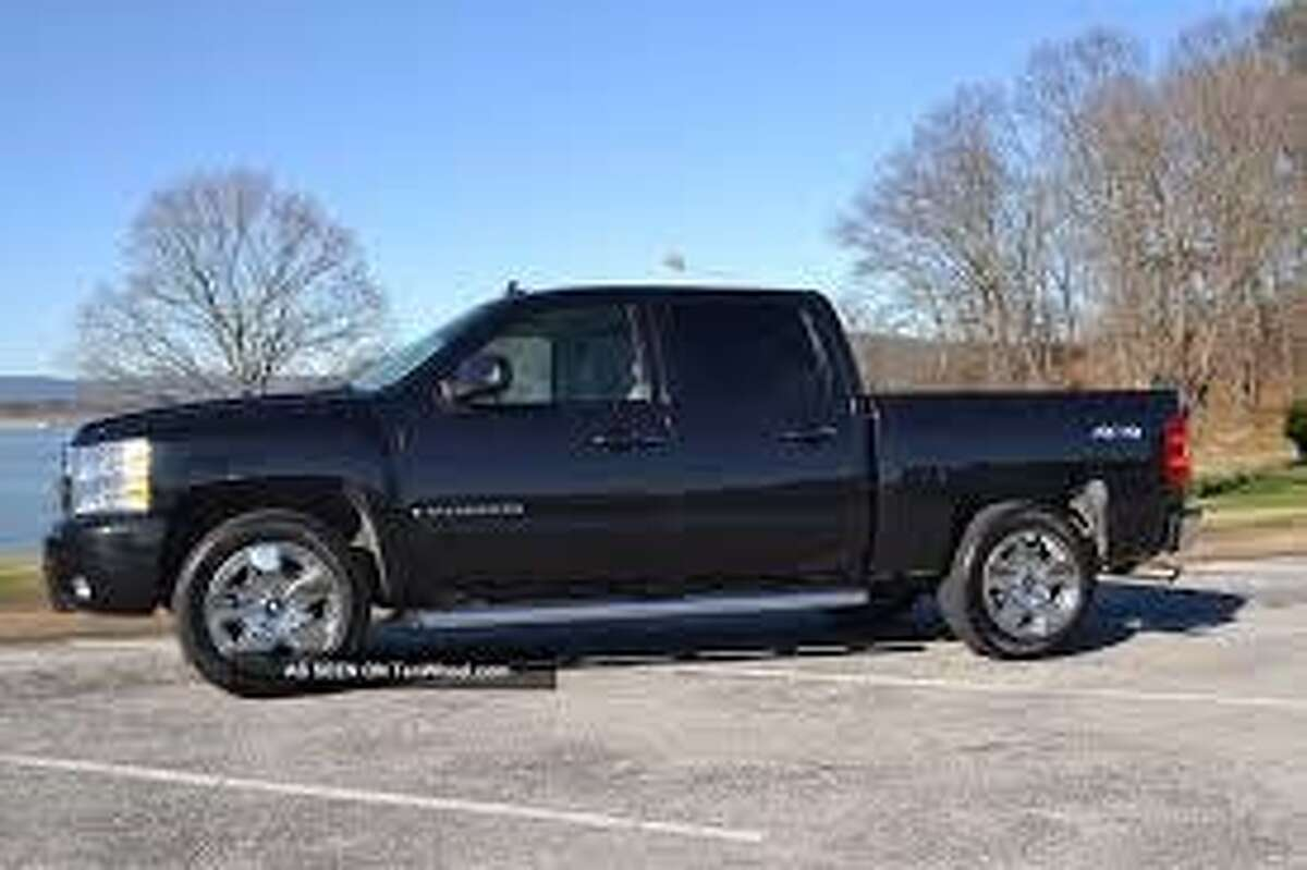 Police are looking for a four-door black pickup truck, similar to the one shown here, in connection with an apparent child abduction on Thursday, Dec. 18, 2014, in Berne, N.Y. (State Police)