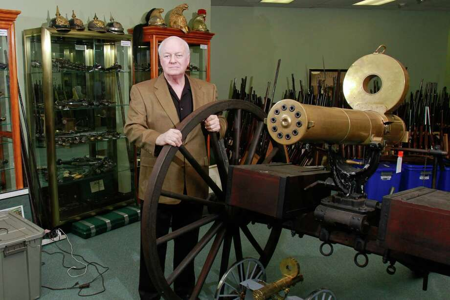 Gatling gunIn service: 1862 - 1911 Photo: Gary Fountain, Freelance / Copyright 2014 by Gary Fountain