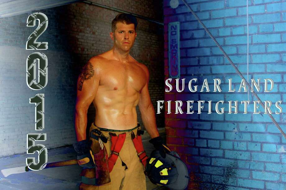 The 12 Sugar Land firefighters who took part trained for four months to look their best for the calendar which is sold to raise money to fund college scholarships for firefighters children. Photo: Andrew Wolf, Sugar Land Firefighters Cal / (C)Andrew Wolf 2014