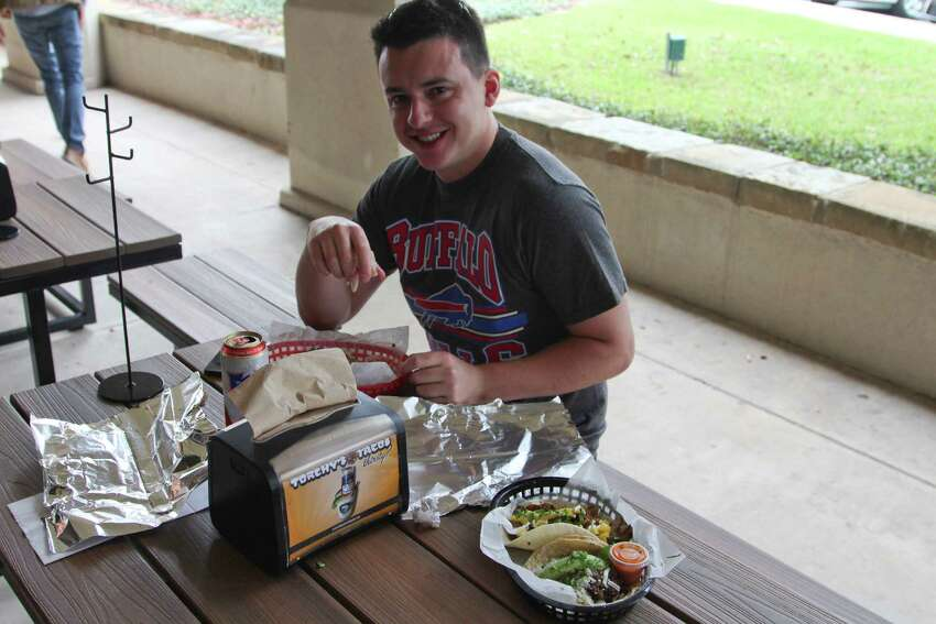 Hundreds came by the new Torchy's Tacos location in San Antonio.