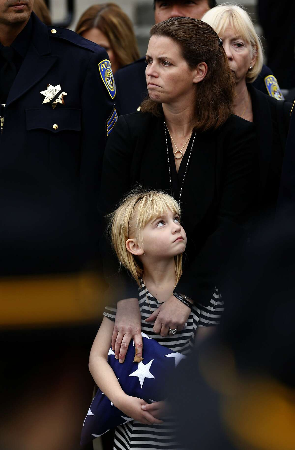 The daughter of BART police Sgt. Tom