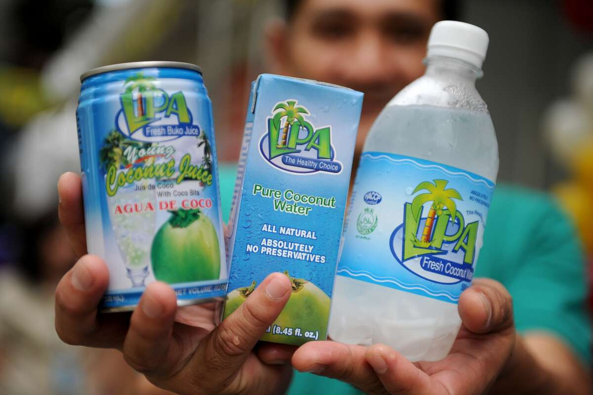 A dietary staple in the tropics, coconut water has become a popular hangover cure in the U.S. People say it works because it contains potassium and electrolytes. Pedialyte, the drink commonly given to infants to help them recover fromdiarrhea, has also recently become a popular hangover cure. The drink is also high in electrolytes.