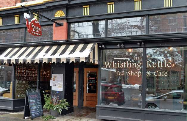 Entrance to the Whistling Kettle on Broadway Friday Dec. 12, 2014, in Troy, NY.  (John Carl D'Annibale / Times Union) Photo: John Carl D'Annibale / 00029830A