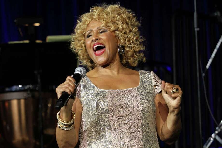 "FILE - In this Oct. 17, 2013 file photo, singer Darlene Love performs at the ""Right To Rock Benefit"" at Cipriani Wall Street in New York. Love will sing ""Christmas (Baby Please Come Home)"" for the 21st and final time on Letterman's annual holiday show. He's retiring from the ""The Late Show with David Letterman"" next May. (Photo by Greg Allen/Invision/AP, File) Photo: Greg Allen, INVL / Invision"