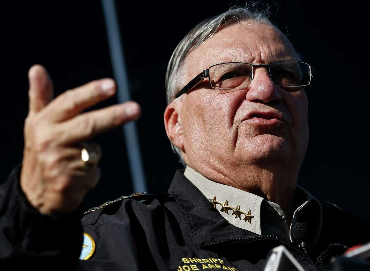 Sheriff Joe Arpaio has battled the federal government for years over enforcement of immigration laws.
