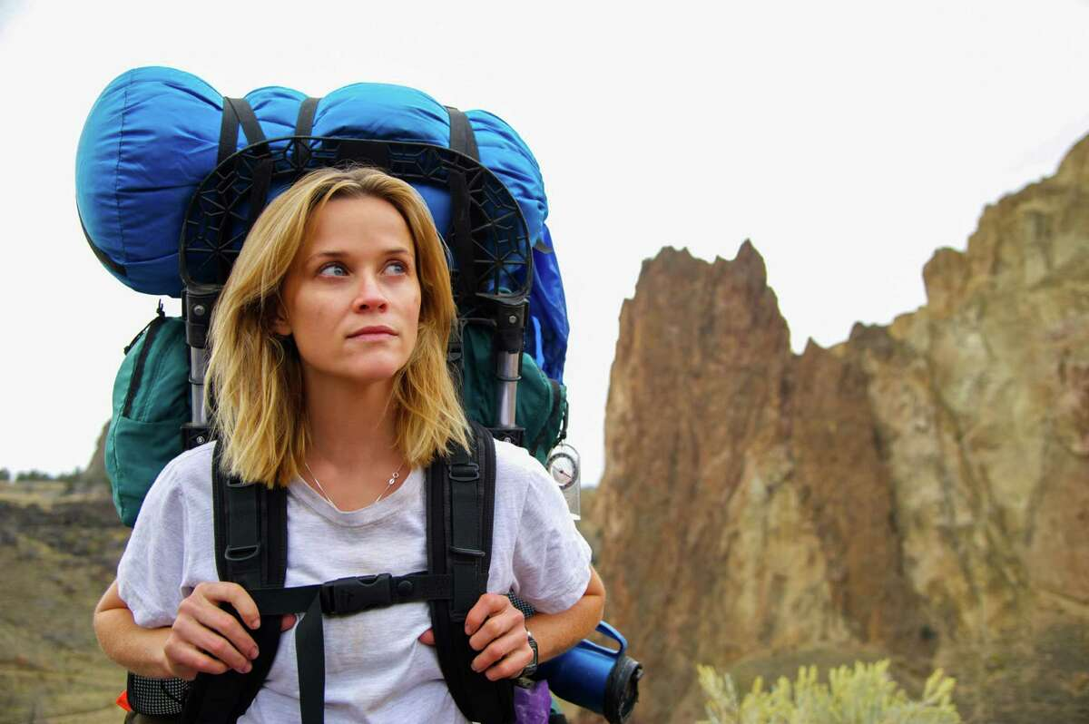 """This image released by Fox Searchlight Pictures shows Reese Witherspoon in a scene from the film, """"Wild."""" Witherspoon was nominated for a Golden Globe for best actress in a drama for her role in the film on Thursday, Dec. 11, 2014. The 72nd annual Golden Globe awards will air on NBC on Sunday, Jan. 11. (AP Photo/Fox Searchlight Pictures, Anne Marie Fox) ORG XMIT: NYET316"""