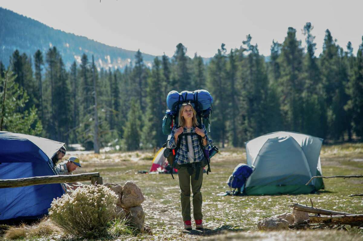"""This image released by Fox Searchlight Pictures shows Reese Witherspoon in a scene from the film, """"Wild."""" Witherspoon was nominated for a Golden Globe for best actress in a drama for her role in the film on Thursday, Dec. 11, 2014. The 72nd annual Golden Globe awards will air on NBC on Sunday, Jan. 11. (AP Photo/Fox Searchlight Pictures, Anne Marie Fox) ORG XMIT: NYET315"""
