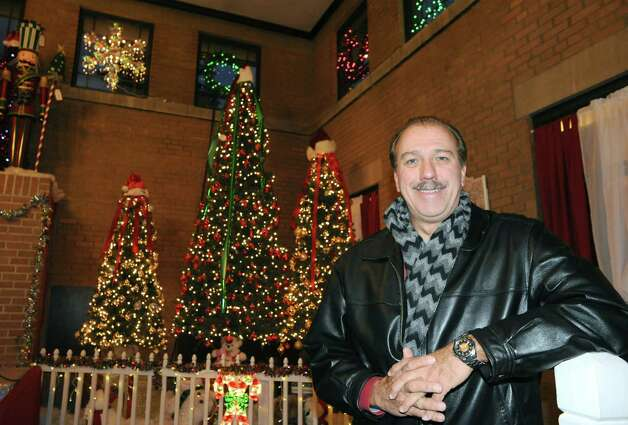 Lenny Ricchiuti at the Capital Holiday Lights on Tuesday Dec. 16, 2014 in Albany ,N.Y.  (Michael P. Farrell/Times Union) Photo: Michael P. Farrell / 00029864A